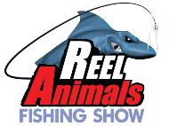 Reel Animals Fishing Show logo
